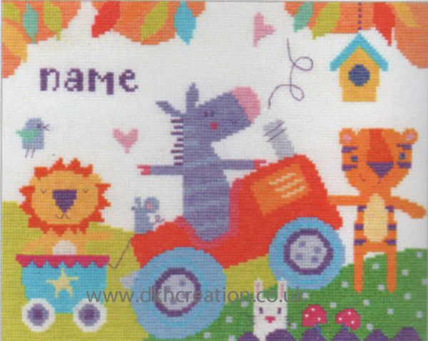 Fun Day Sampler Cross Stitch Kit